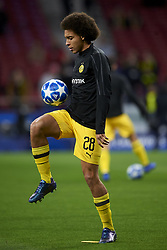November 6, 2018 - Madrid, Spain - Axel Witsel of Borussia Dortmund during the Group A match of the UEFA Champions League between Atletico de Madrid and Borussia Dortmund at Wanda Metropolitano Stadium, Madrid on November 06 of 2018. (Credit Image: © Jose Breton/NurPhoto via ZUMA Press)