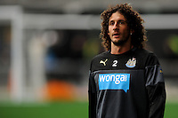 Fabricio Coloccini of Newcastle United looks on, during the Newcastle Knights training, held at Forsyth Barr Stadium, Dunedin, New Zealand, 21 July 2014. Credit: Joe Allison / allisonimages.co.nz