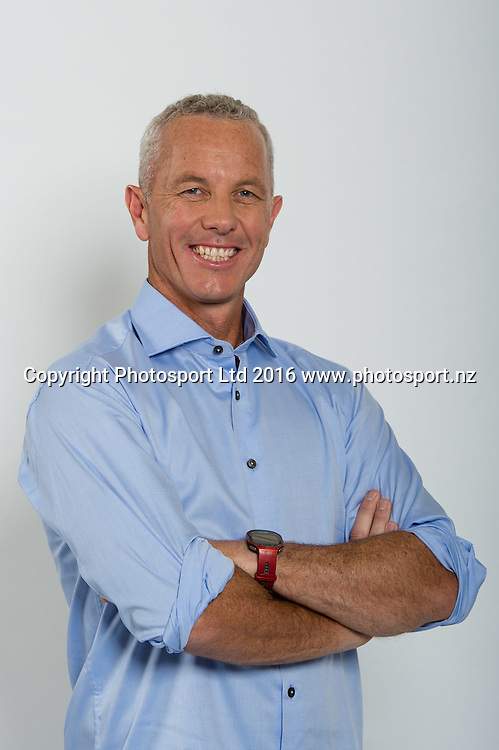 Mark Richardson. Sky Presenters headshots. Christchurch, New Zealand, 16th November 2016. © Copyright Photo: John Davidson / www.photosport.nz
