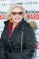 Sandra Dickinson, WhatsOnStage Awards Nominations - launch party, Cafe De Paris, London UK, 06 December 2013, Photo by Raimondas Kazenas