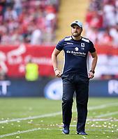 Fussball  3. Liga  Saison 2018/2019  1. Spieltag  1. FC Kaiserslautern - TSV 1860 Muenchen     28.07.2018 Trainer Daniel Bierofka (1860 Muenchen) nachdenklich