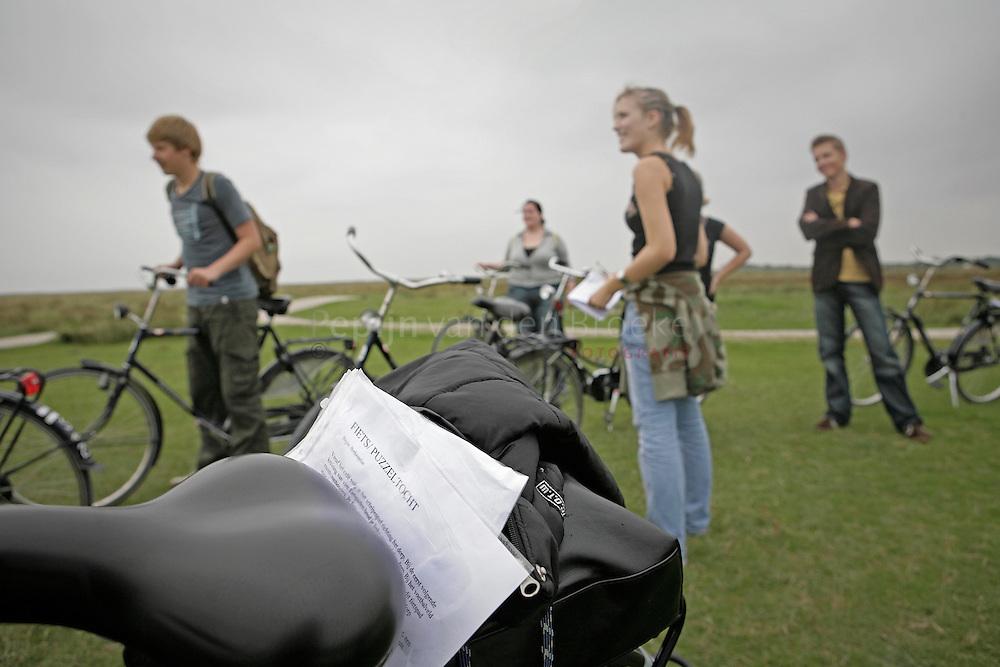 Schiermonnikoog 5/9/2006.Introkamp Instituut voor rechtenstudies Hanzehogeschool Groningen.foto: Pepijn van den Broeke