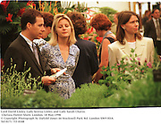 Lord David Linley, Lady Serena Linley and Lady Sarah Chatto. Chelsea Flower Show. London. 18 May 1998<br />© Copyright Photograph by Dafydd Jones<br />66 Stockwell Park Rd. London SW9 0DA<br />Tel 0171 733 0108