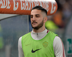 April 18, 2018 - Rome, Italy - Kostas Manolas during the Italian Serie A football match between A.S. Roma and AC Genoa at the Olympic Stadium in Rome, on april 18, 2018. (Credit Image: © Silvia Lore/NurPhoto via ZUMA Press)