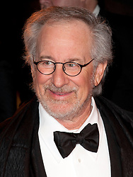 Director Steven Spielberg  at the premiere of his new film War Horse in London, Sunday 8th January 2012.  Photo by: Stephen Lock / i-Images