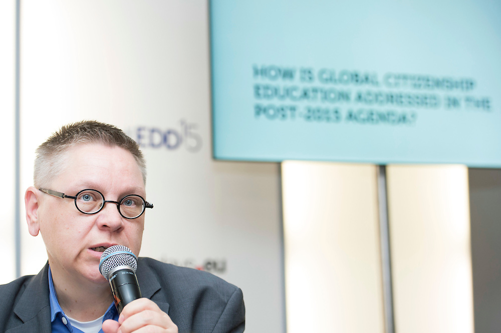 03 June 2015 - Belgium - Brussels - European Development Days - EDD - Citizenship - Global citizenship and education in a developing world - Rilli Lappalainen , Board Member , The European NGO Confederation for Relief and Development (CONCORD) © European Union