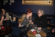 LADY SANDRA BATES; ALEXIS PARR, Lady Sandra Bates hosts  her Exhibition of<br /> FINE ART AT TRAMP. Paintings by established and emerging artists: London. 10 February 2015.