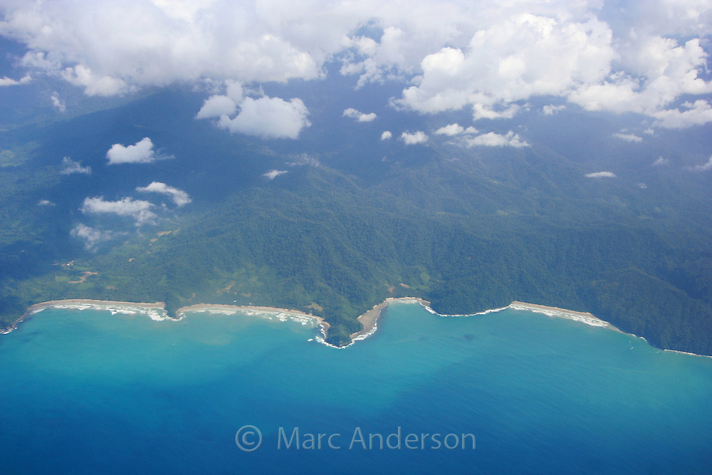 Aerial View of Bacuit Archipelago, Philippines
