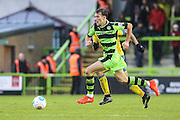 Forest Green Rovers Christian Doidge(9) runs forward during the Vanarama National League match between Forest Green Rovers and Torquay United at the New Lawn, Forest Green, United Kingdom on 1 January 2017. Photo by Shane Healey.