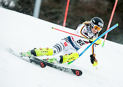 "Andrea Filser (GER) competes during 1st Run of FIS Alpine Ski World Cup 2017/18 Ladies' Slalom race named ""Snow Queen Trophy 2018"", on January 3, 2018 in Course Crveni Spust at Sljeme hill, Zagreb, Croatia. Photo by Vid Ponikvar / Sportida"