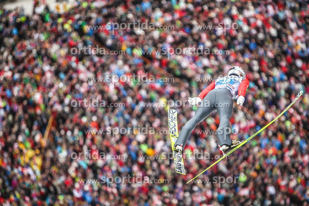 04.01.2014, Bergisel Schanze, Innsbruck, AUT, FIS Ski Sprung Weltcup, 62. Vierschanzentournee, Innsbruck, Bewerb, im Bild Taku Takeuchi (JPN) // Taku Takeuchi (JPN) during Competition of 62nd Four Hills Tournament of FIS Ski Jumping World Cup at the Bergisel Schanze in Innsbruck, Austria on 2014/01/04. EXPA Pictures © 2014, PhotoCredit: EXPA/ JFK