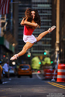 Dance As Art New York Photography Project Midtown Manhattan Series with ballet dancer Erin Aslami