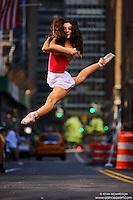 Dance As Art New York Photography Project Midtown Manhattan Series with ballet dancer Erin Aslami