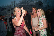 TAMARA BECKWITH-SMITH; ALICE NAYLOR-LEYLAND, The Serpentine Summer Party 2013 hosted by Julia Peyton-Jones and L'Wren Scott.  Pavion designed by Japanese architect Sou Fujimoto. Serpentine Gallery. 26 June 2013. ,