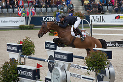 Delaveau Patrice (FRA) - Carinjo HDC <br /> Furusiyya FEI NATIONS CUP presented by Longines<br /> CHIO Rotterdam 2014<br /> © Dirk Caremans