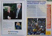 All Ireland Senior Hurling Championship - Final, .14.09.1997, 09.14.1997, 14th September 1997, .14091997AISHCF,.Senior Clare v Tipperary .Tipperary 2-16, Wexford 0-15,.Minor Clare v Galway, .Bord na Gaeilge,