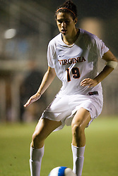 Virginia Cavaliers D Alex Singer (19)..The Virginia Cavaliers hosted the Colorado  Buffalos in the first game of the 2007 Nike Soccer Classic held at Klockner Stadium in Charlottesville, VA on August 14, 2007.