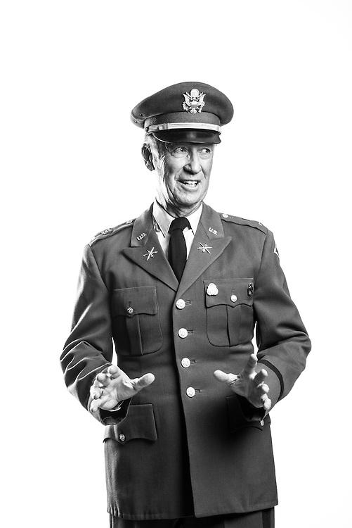 John F. Golden<br /> Army<br /> O-2<br /> Field Artillery <br /> 1963 - 1965 (Active)<br /> 1965 - 1969 (Reserves)<br /> Korea<br /> <br /> Veterans Portrait Project<br /> Denver, CO
