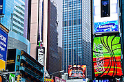Times Square in Mahanttan, New York City, New York, USA
