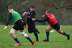 Freddie Burns in action - Mandatory byline: Patrick Khachfe/JMP - 07966 386802 - 16/01/2020 - RUGBY UNION - Farleigh House - Bath, England - Bath Rugby Training Session