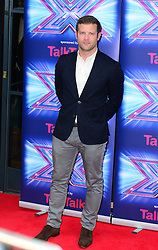 Image ©Licensed to i-Images Picture Agency. 27/08/2014. London, United Kingdom. Dermot O'Leary arriving for the launch of the new series of The X Factor. Picture by Nils Jorgensen / i-Images