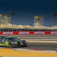 #97, Aston Martin Racing, Martin Vantage, driven by: Jonny Adam, Darren Turner, WEC BAPCO 6 Hours of Bahrain, 17/11/2017,
