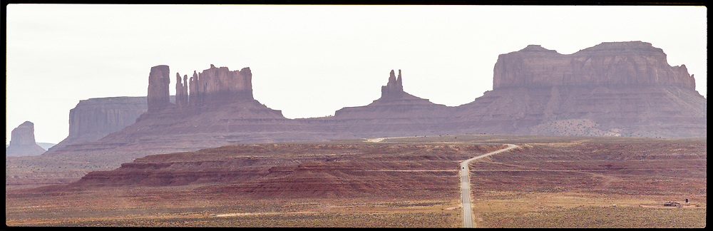 Monument Valley Long Road Dawn, Arizona, USA, 1994