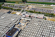 Nederland, Limburg, Gemeente Sittard-Geleen, 26-06-2014; Born, vestiging van VDL Nedcar.<br /> luchtfoto (toeslag op standaard tarieven);<br /> aerial photo (additional fee required);<br /> copyright foto/photo Siebe Swart.