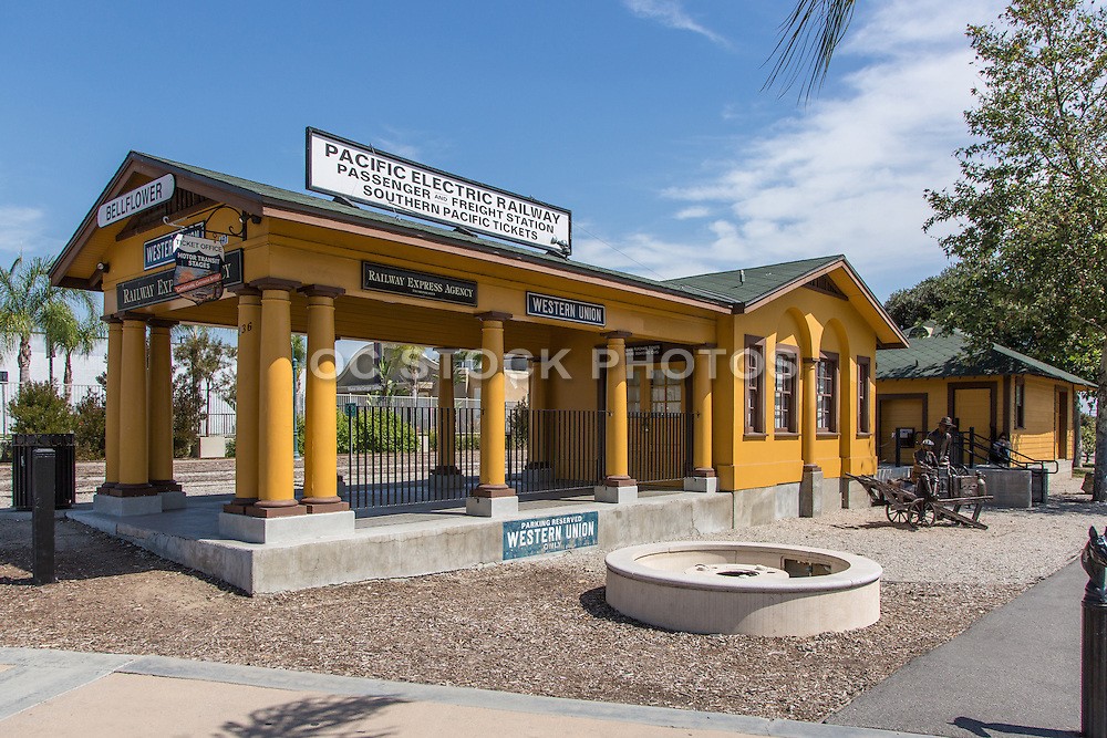 Pacific Electric Train Depot