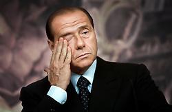 Silvio Berlusconi, Italy's former prime minister.