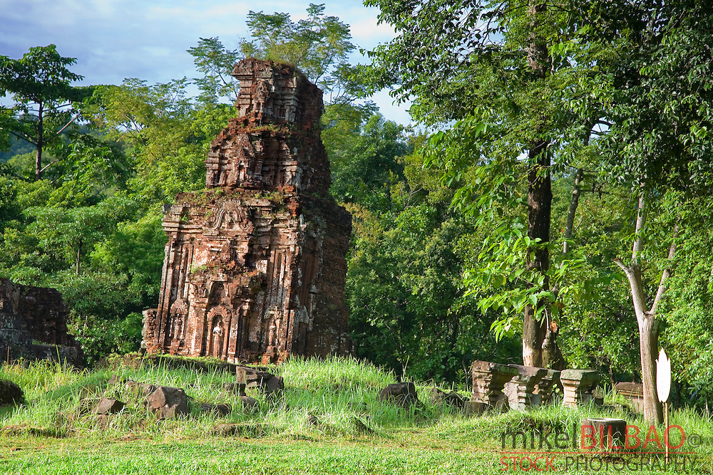 My Son (cluster of abandoned and partially ruined Hindu temples). <br />