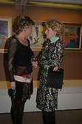 Baroness von Zuylen and Fiona Shackleton. 'The Road to Abtsraction' an exhibition of paintings by Rosita Marlborough. the Fleming Collection. 13 Berkeley St. London W1. 31 March 2005. ONE TIME USE ONLY - DO NOT ARCHIVE  © Copyright Photograph by Dafydd Jones 66 Stockwell Park Rd. London SW9 0DA Tel 020 7733 0108 www.dafjones.com