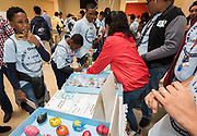 Students participate in Kid's Day for Entrepreneurship, December 8, 2017.