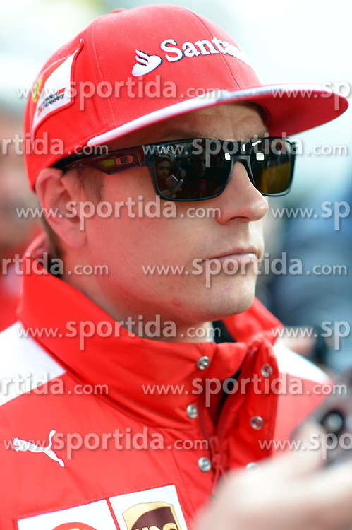 26.02.2015, Circuit de Catalunya, Barcelona, ESP, FIA, Formel 1, Testfahrten, Barcelona, Tag 1, im Bild Kimi Raikkonen (FIN) Ferrari // during the Formula One Testdrives, day one at the Circuit de Catalunya in Barcelona, Spain on 2015/02/26. EXPA Pictures &copy; 2015, PhotoCredit: EXPA/ Sutton Images/ Patrik Lundin Images<br /> <br /> *****ATTENTION - for AUT, SLO, CRO, SRB, BIH, MAZ only*****