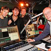 NLD/Hilversum/20110126 - Interview 3 J's tijdens Tros Gouden Uren, Jaap Kwakman, Jan Dulles, Jaap de Witte met Daniel Dekker in de studio