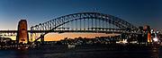 Sydney Harbour Bridge Panoramic (12x33-inch)
