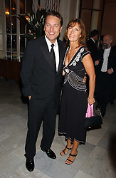 Comedian BRIAN CONLEY and his wife ANNE-MARIE at a party following the world premier of the musican Sinatra at The London Palladium, held at The Palm Court, Waldorf Hotel, Aldwych, London WC2 on 8th March 2006.<br /><br />NON EXCLUSIVE - WORLD RIGHTS