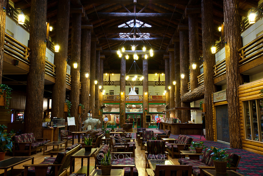 East Glacier Lodge, Glacier National Park.
