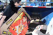"Randy Spears at Shred Your Ex and Shred Chris Brown CDs and Posters for Pre-Valentines Day Bash held at WBLI Studios in West Babylon, Long Island on February 13, 2009..""Shred Your Ex"" party the day before Valentines Day. Radio Station WBLI has invited members of Rihanna's Fan Club and other fans across the nation to join the pop star's side along with .others who are ""unlucky in love.""."
