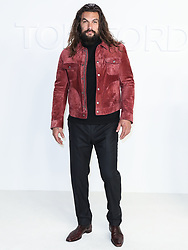 HOLLYWOOD, LOS ANGELES, CALIFORNIA, USA - FEBRUARY 07: Tom Ford: Autumn/Winter 2020 Fashion Show held at Milk Studios on February 7, 2020 in Hollywood, Los Angeles, California, United States. 07 Feb 2020 Pictured: Jason Momoa. Photo credit: Xavier Collin/Image Press Agency/MEGA TheMegaAgency.com +1 888 505 6342