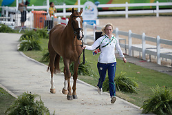 Abbott Clare, IRL, Euro Prince<br /> Final Horse inspection Eventing<br /> Olympic Games Rio 2016<br /> © Hippo Foto - Dirk Caremans<br /> 09/08/16