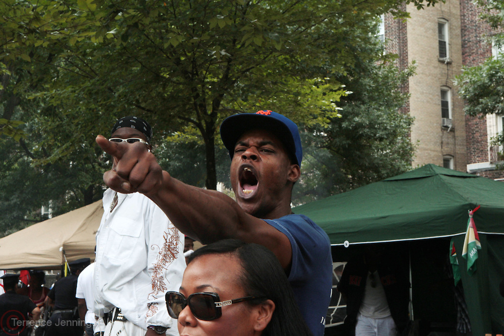 5 September 2011: New York, NY-  Audience at the 44th Annual West Indian Day Carnival held on Eastern Parkway and the Brooklyn Museum on September 5, 2011 in Brooklyn, New York. Photo Credit: Terrence Jennings