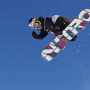 Dimi De Jong, The Netherlands, in action during the Men's Half Pipe Finals in the LG Snowboard FIS World Cup, during the Winter Games at Cardrona, Wanaka, New Zealand, 28th August 2011. Photo Tim Clayton..