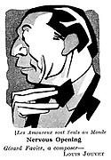 Les Amoureux sont Seuls au Monde ; Louis Jouvet