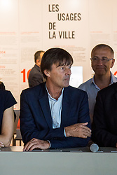 June 26, 2017 - Lyon, France - French Minister of Ecological and Inclusive Transition Nicolas Hulot  visits the new district of Confluence in Lyon on June 26, 2017. (Credit Image: © Nicolas Liponne/NurPhoto via ZUMA Press)