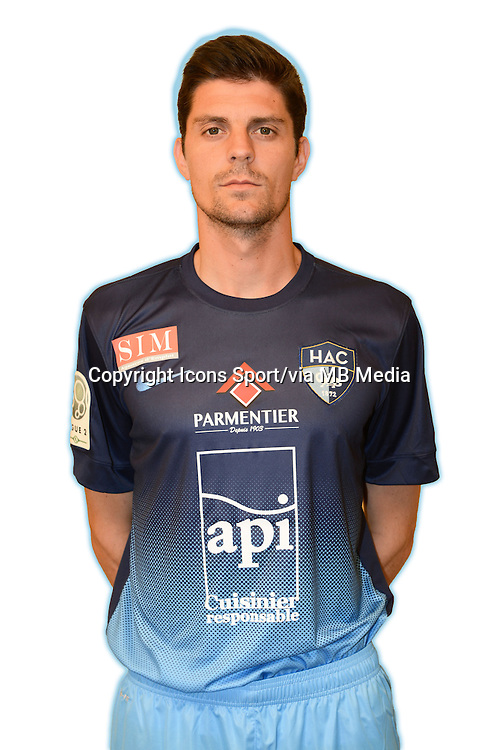 Benjamin GENTON - 04.10.2013 - Photo Officielle - Le Havre -<br /> Photo : Icon Sport