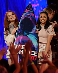 LOS ANGELES - AUGUST 13: The cast of 'RIVERDALE' accept the Choice Drama TV Show award onstage at FOX's 'Teen Choice 2017' at the Galen Center on August 13, 2017 in Los Angeles, California. (Photo by Frank Micelotta/FOX/PictureGroup)LOS ANGELES - AUGUST 13: The cast of 'RIVERDALE' accept the Choice Drama TV Show award onstage at FOX's 'Teen Choice 2017' at the Galen Center on August 13, 2017 in Los Angeles, California. (Photo by Frank Micelotta/FOX/PictureGroup) *** Please Use Credit from Credit Field ***