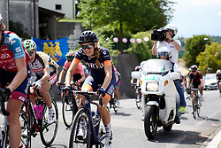 Birgitte Andersen (DEN) climbs the final GPM during Stage 10 of 2019 Giro Rosa Iccrea, a 120 km road race from San Vito al Tagliamento to Udine, Italy on July 14, 2019. Photo by Sean Robinson/velofocus.com
