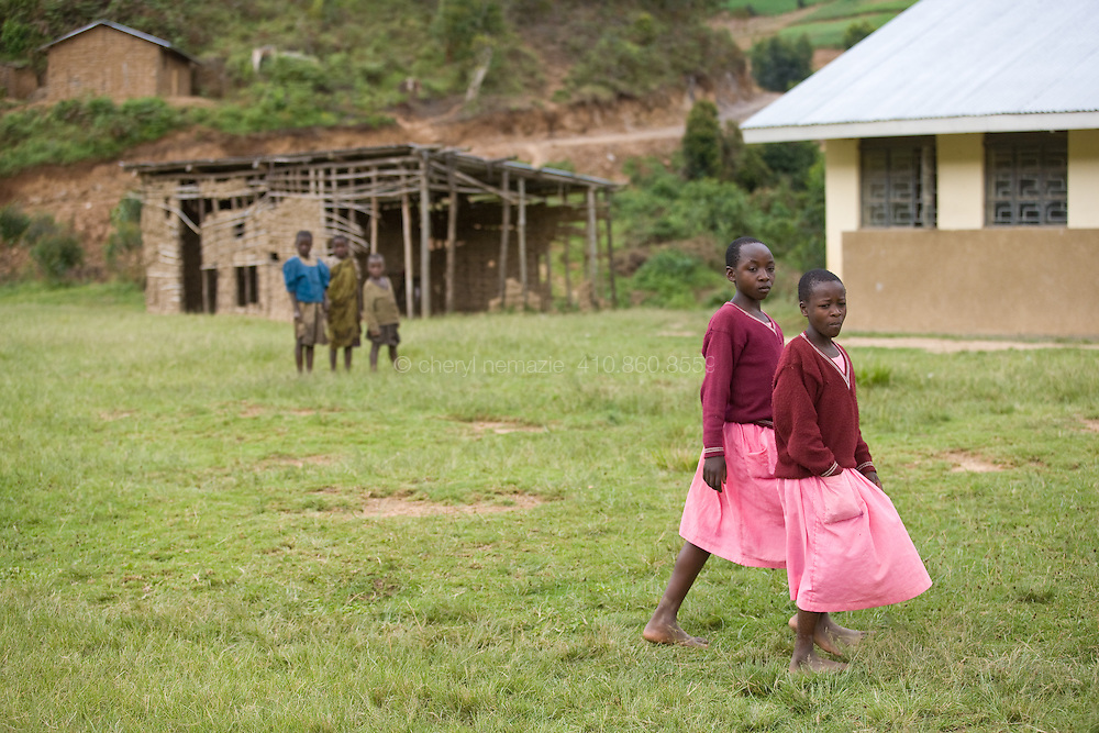 Ostracized by local villagers and lacking in funds for books and uniforms, Batwa Pygmy children lack access to the village schools.