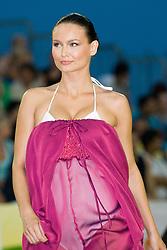 Janja Gasljevic, 2nd runner-up of Miss slovenia 2009, at Beachmaster 2010 tournament for Slovenian BeachTour on July 17, 2010, in Ptuj, Slovenia. (Photo by Matic Klansek Velej / Sportida)
